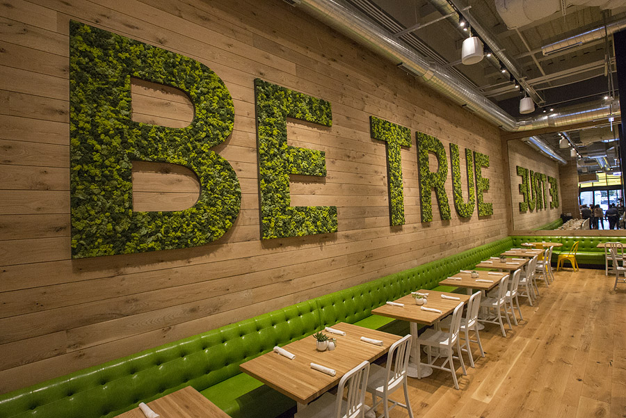 True Food Kitchen Design true heart in true food kitchen - lettuce eat real
