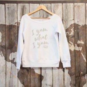 white sweatshirt on maps (1)